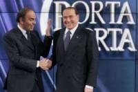 Berlusconi shock a Porta a Porta: Vespa leader Centrodestra