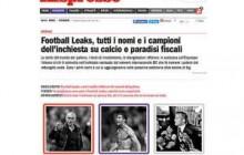 Football Leaks, da L'Espresso documenti scottanti sul mondo del calcio